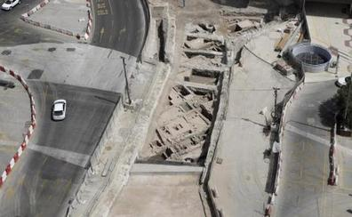 Cultura prevé que el traslado de los restos del metro tardará tres semanas