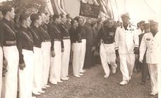 Así fue la visita del yerno de Mussolini a Málaga en 1939