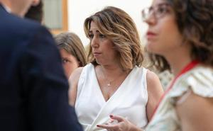 Susana Díaz rechaza el presupuesto por su «involución y beneficio de lo privado en detrimento de lo público»