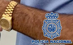 Detienen a un turista con un reloj de 28.000 euros cuyo robo había denunciado un día antes en Marbella