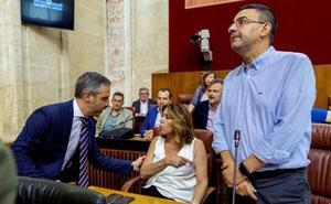 La bronca final del debate presupuestario enfrenta el PSOE-A con la presidenta del Parlamento