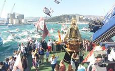 Horarios e itinerarios de las procesiones del Carmen en Málaga de este domingo