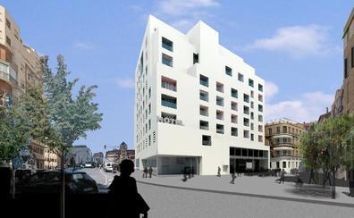 Las obras del hotel de Moneo desviarán el tráfico por la plaza de Arriola