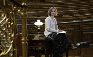 Gloria Canencia, 33 años taquigrafiando lo que pasa en el Congreso: «A veces nos hablan sólo a nosotras»