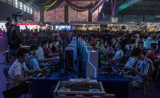 Las imágenes de la partida de Fornite más esperada del Gamepolis en Málaga