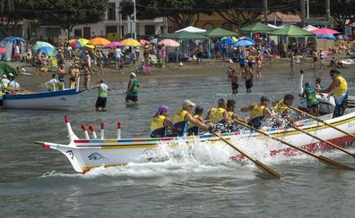 La Cala destaca en el Gran Premio de jábegas de El Palo