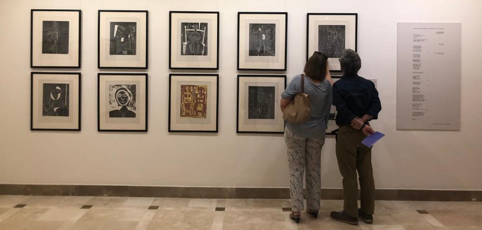 Dos continentes en una exposición