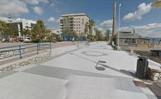 Detenido por amenazar con un cuchillo de grandes dimensiones a un vigilante de un chiringuito del paseo marítimo Antonio Banderas