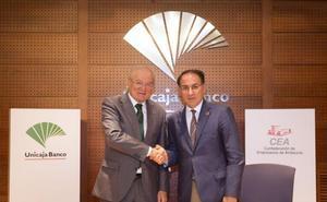 Unicaja Banco apoya la creación de la Oficina Empresarial para el Cumplimiento de la Agenda 2030, impulsada por la CEA