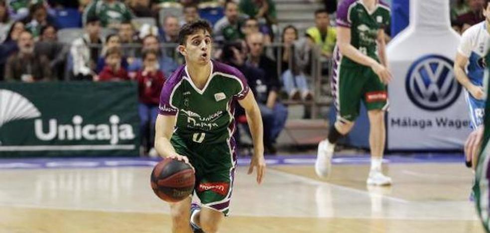 Lucas Muñoz, del Unicaja al Marbella de LEB Plata