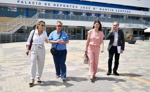 La Academia visita el Martín Carpena para dar el visto bueno a la celebración de los Goya en Málaga