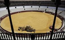 La plaza de toros de La Malagueta de Málaga luce rejuvenecida