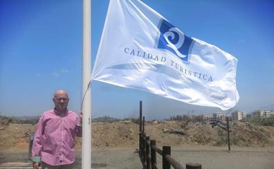 La playa canina de Torre del Mar, la primera con Q de Calidad de Andalucía