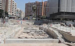 Conservar los restos de la avenida Andalucía en su sitio, «incompatible» con las obras del metro