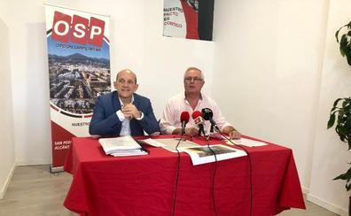 OSP pide la mejora de los centros escolares y sanitarios en Marbella y San Pedro