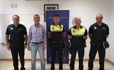Tres nuevos agentes en comisión de servicio refuerzan la plantilla de la Policía Local