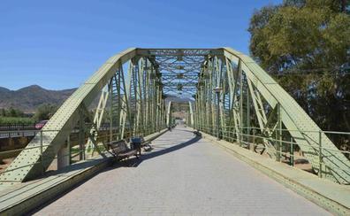 Cártama reserva los fondos para restaurar el icónico Puente de Hierro sobre el Guadalhorce