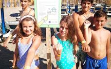Chiringuitos malagueños activan un sistema para localizar a niños que se pierdan en la playa