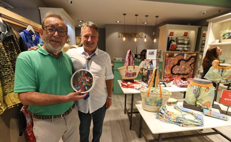 Manolo Rincón presenta Empatía Art Collection, su línea benéfica de ropa