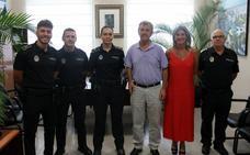 La Policía Local de Estepona incorpora tres nuevos agentes tras más de una década sin oferta de empleo
