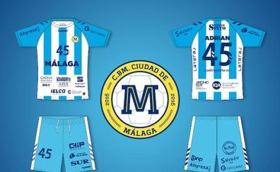El Ciudad de Málaga vestirá de blanquiazul esta temporada