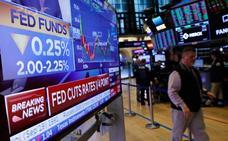 EE UU rebaja los tipos por primera vez en una década por la debilidad económica mundial