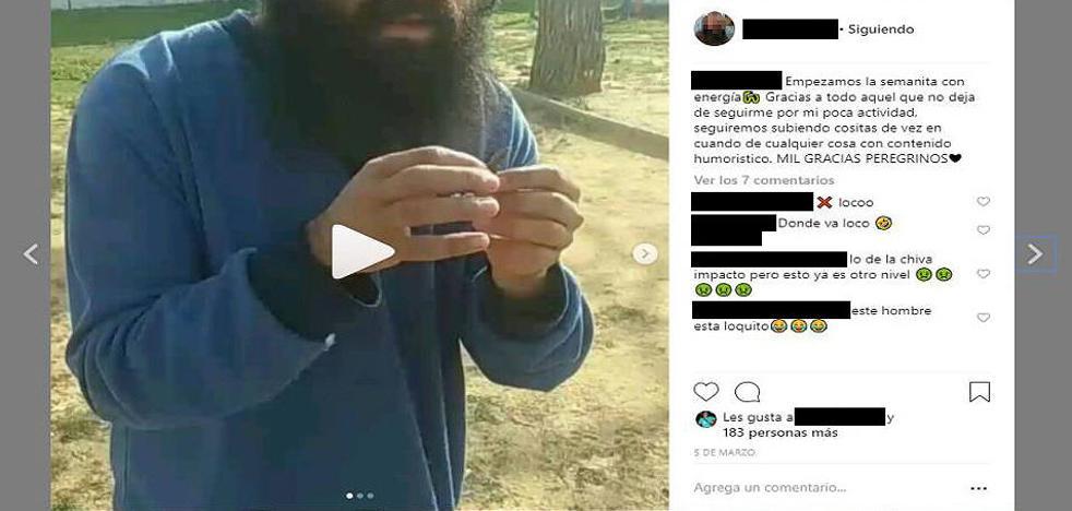 Detenidos por vejar y grabar a un joven con un trastorno psíquico para ganar seguidores en Instagram