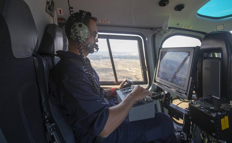 Un vuelo en el Pegasus de la Guardia Civil