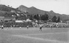 El campo de fútbol de los Baños del Carmen