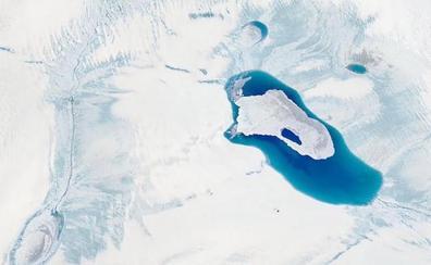 El cambio climático derrite Groenlandia