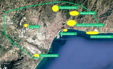 El Ayuntamiento impulsa la creación de un anillo verde en la bahía de Málaga