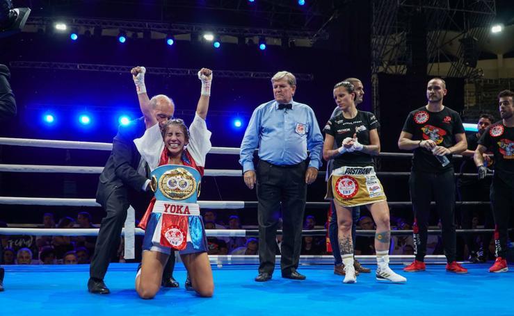Yokasta Valle arrebata a Joana Pastrana la corona mundial de peso mínimo en Marbella