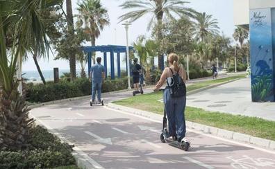 El alcalde pide a la Policía Local que «extreme la vigilancia» en la velocidad y la recogida de los patinetes eléctricos