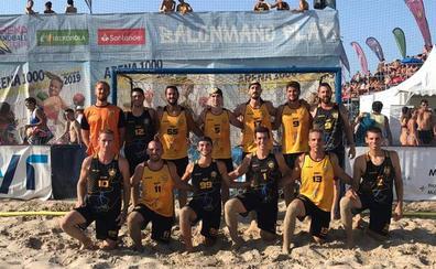Botín de medallas malagueñas Campeonato de España de balonmano-playa