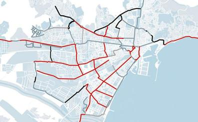La Junta descarta ahora los 50 kilómetros de carriles bici comprometidos para Málaga