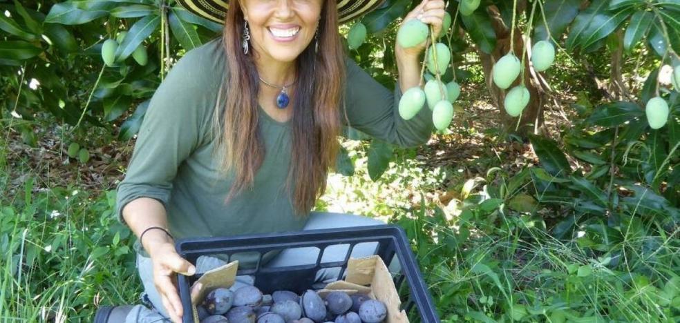 La sorprendente variedad de mango silvestre que es de color azul