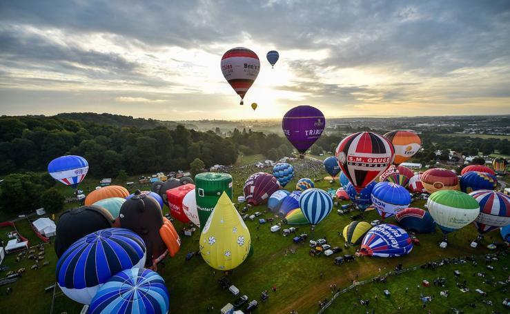 Así ha sido el festival internacional de globos en Bristol