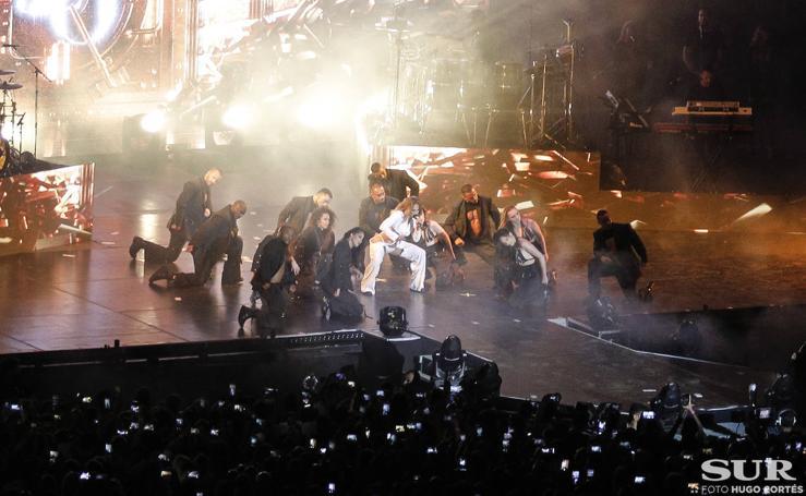 Las fotos del concierto de Jennifer López en Fuengirola