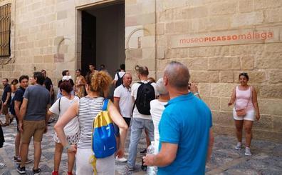 El 'semáforo' del Museo Picasso Málaga