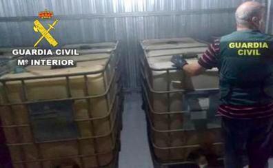 Dos detenidos por robar cerca de un millón de litros de gasoil de un oleoducto