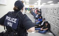 La Policía deja en libertad a la mitad de los detenidos en la redada en Misisipi
