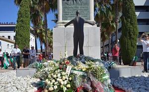 La oposición pide a la Junta el desarrollo de la Ley de Memoria Democrática en el homenaje a Blas Infante