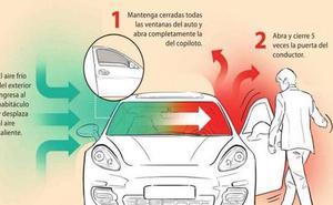 Trucos para enfríar y ventilar el coche en plena ola de calor