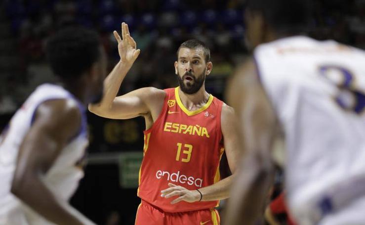La selección española se luce en su último partido en Málaga