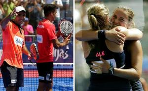 Las parejas Lima-Galán y Salazar-Sánchez, vencedoras en el Open de Mijas
