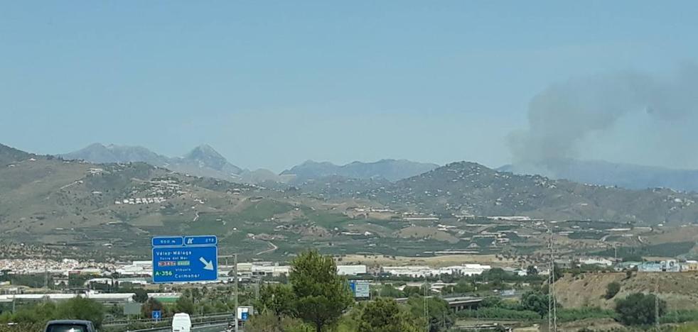 Declared a forest fire in Torrox