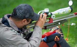 El malagueño Alfredo Márquez, campéon del mundo en la modalidad de tiro 'Field Target'
