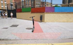 Centro histórico: patinetes sin control