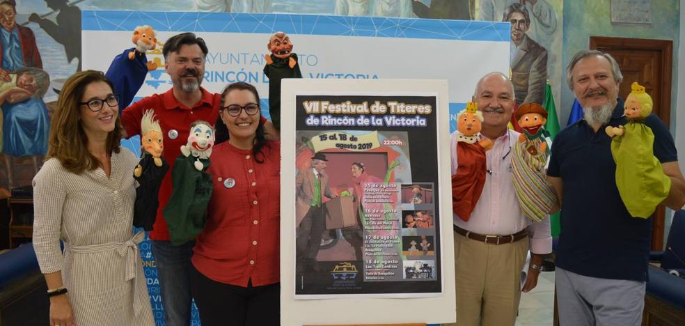 Rincon de la Victoria hosts the VII Puppet Festival with the special celebration of the 60th anniversary of Peneque El Valiente