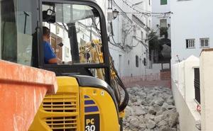 Se reanudan las obras de calle La Fuente